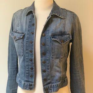 Current Elliot Denim Jean jacket (sz 1)